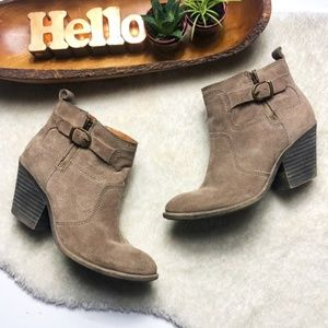 ❤️ HP ❤️ Lucky Brand   Teveralda Leather Booties